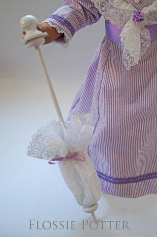 "Simply Lace Parasol 18"" Doll Accessories"