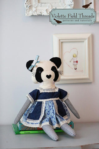 "Penny Panda 18"" Animal Doll"