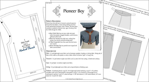"Pioneer Boy 18"" Doll Clothes"