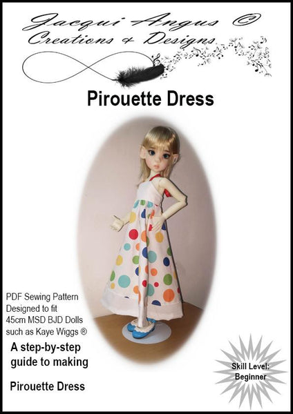 Jacqui Angus Creations Amp Designs Pirouette Dress Doll