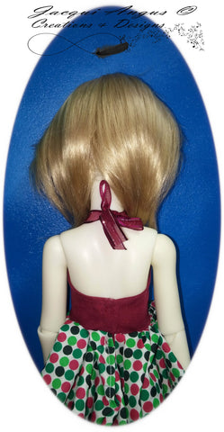 Pirouette Dress Pattern for MSD Ball Jointed Dolls