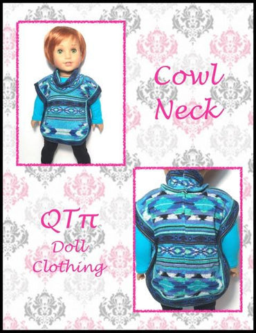 "Poncho 18"" Doll Clothes"