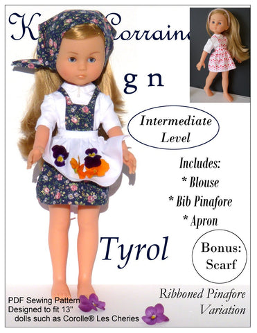 Tyrol Pattern for Les Cheries Dolls