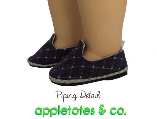 Appletotes Amp Co Preppy Loafers Doll Shoe Pattern 18 Inch