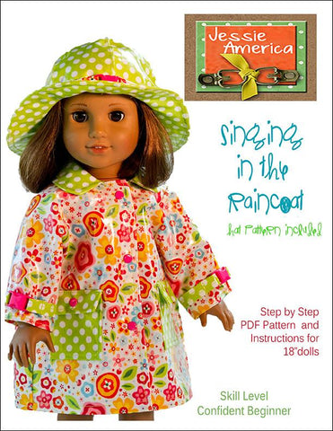 "Singing in the Raincoat 18"" Doll Clothes"