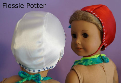 "Retro Swim Cap 18"" Doll Clothes"