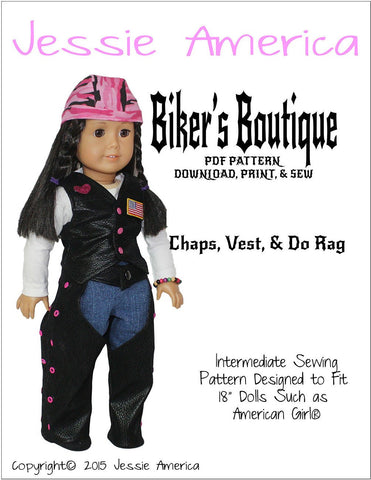 "Biker's Boutique 18"" Doll Clothes"