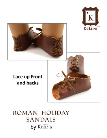 "Roman Holiday Sandals 18"" Doll Shoes"