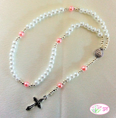 Doll-Sized Rosary Doll Jewelry Pattern