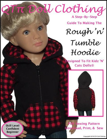 Rough 'n' Tumble Hoodie for Kidz N Cats Dolls