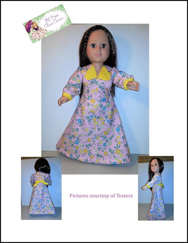 "Irvette 18"" Doll Clothes Pattern"