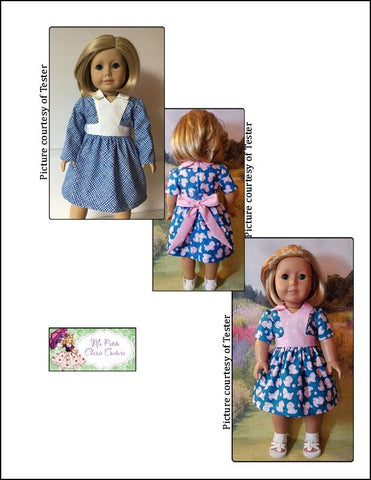 "Esmeralda Dress 18"" Doll Clothes Pattern"