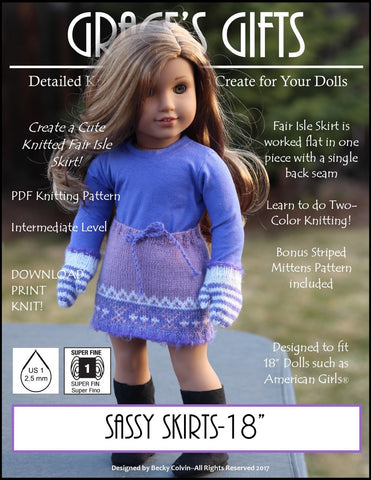 Sassy Skirts Knitting Pattern