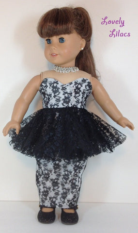 "Sassy Fun 18"" Doll Clothes Pattern"