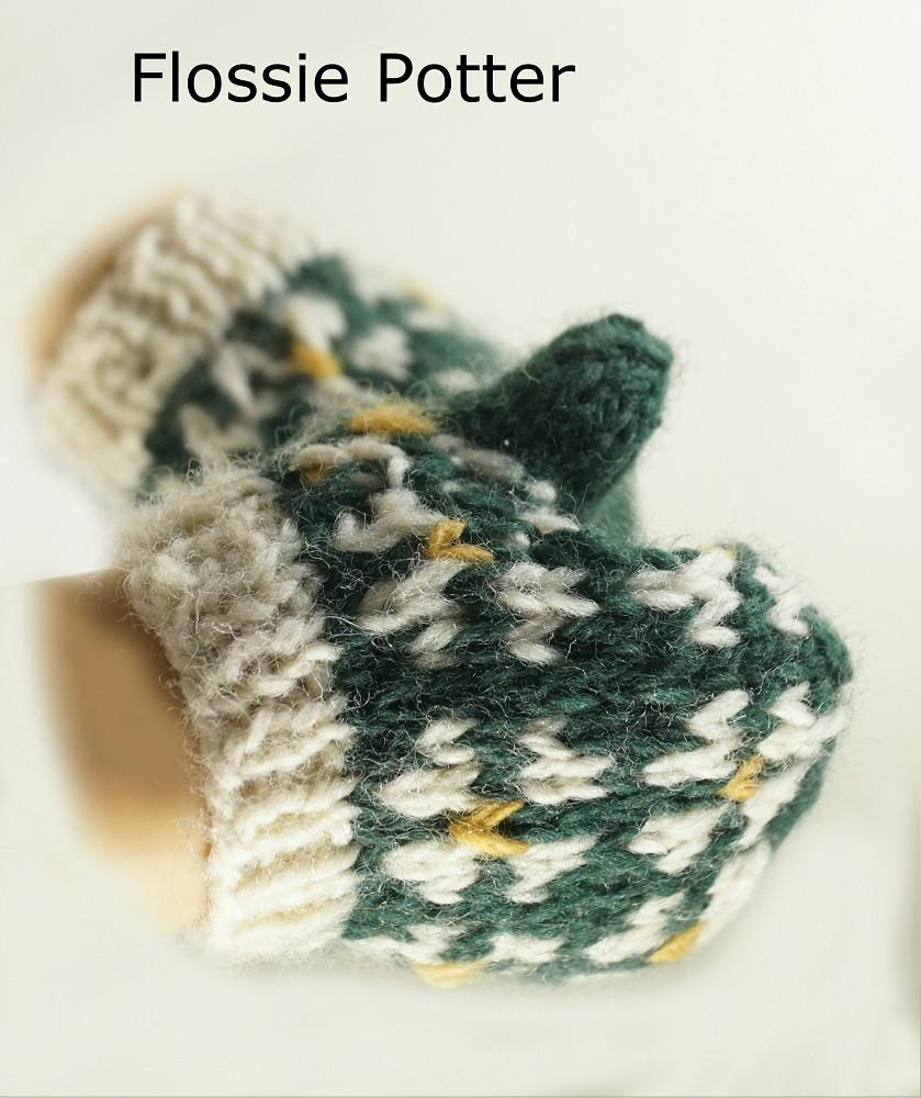 Flossie Potter Scandinavian Mittens & Hat Doll Clothes Pattern 18 ...