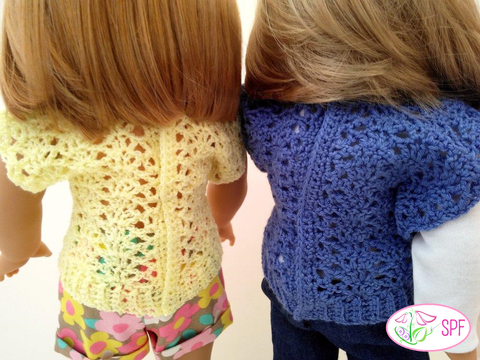 Shannon Crocheted Openwork Top Crochet Pattern