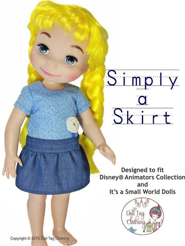 FREE Simply a Skirt for Disney Animator Dolls