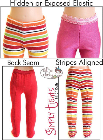 Simply Tights for WellieWishers Dolls