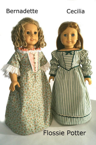 "Sisters 18"" Doll Clothes Pattern"
