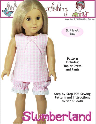 "Slumberland 18"" Doll Clothes"