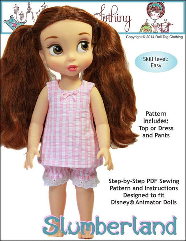 Slumberland for Disney Animator Dolls