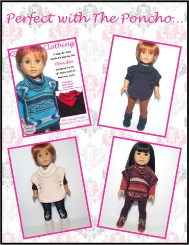 "Sweater Mukluks 18"" Doll Shoes"