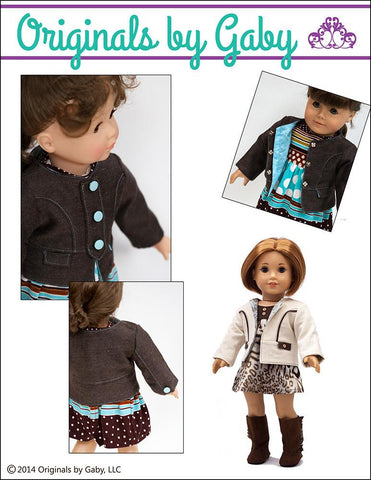 "Snappy Little Jacket 18"" Doll Clothes"