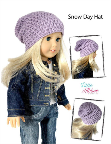 Snow Day Hat Crochet Pattern