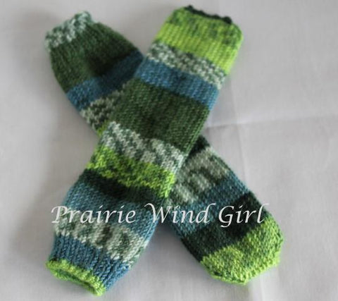 Eeezy Peezy Tube Sock Knitting Pattern