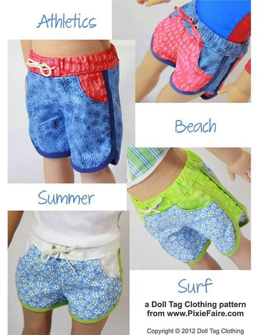 "Sporty Shorts 18"" Doll Clothes"
