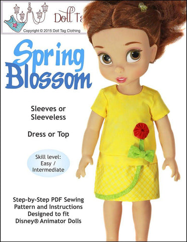Spring Blossom for Disney Animator Dolls