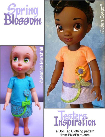 Spring Blossom Pattern for Disney Animator Dolls
