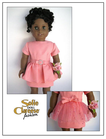 "Sofie's Spring Date Dress 18"" Doll Clothes"