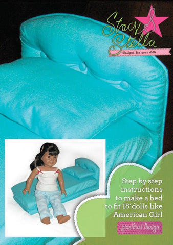 Doll Bed Furniture Pattern