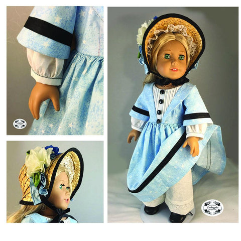 "Stand By Me 18"" Doll Clothes Pattern"