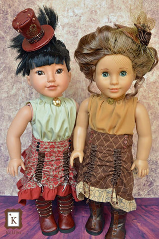 "Steampunk Separates Bundle 18"" Doll Clothes"