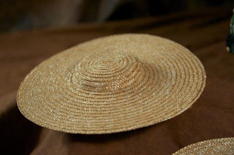 PIxie Packs - 3 Pack of Wide Brimmed Natural Straw Hats