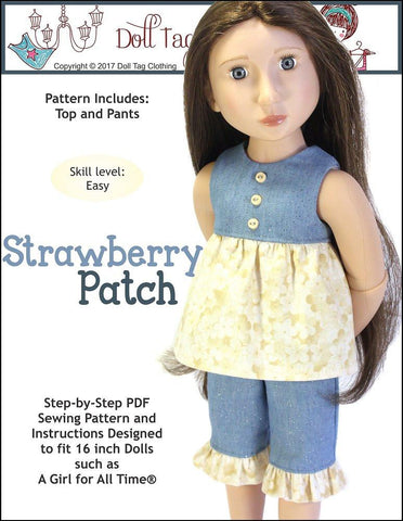 Strawberry Patch for AGAT Dolls
