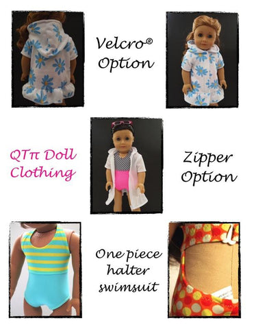 "Summer Fun Bundle 18"" Doll Clothes Pattern"