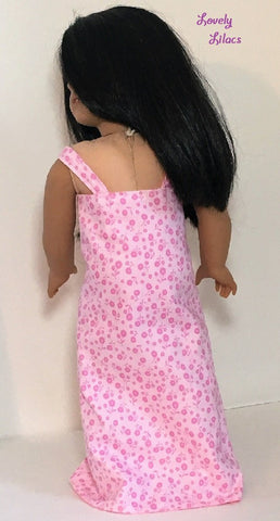 "Easy Summer Wrap 18"" Doll Clothes Pattern"