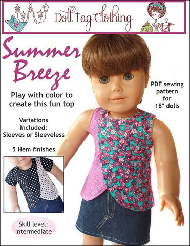 "Summer Breeze 18"" Doll Clothes"