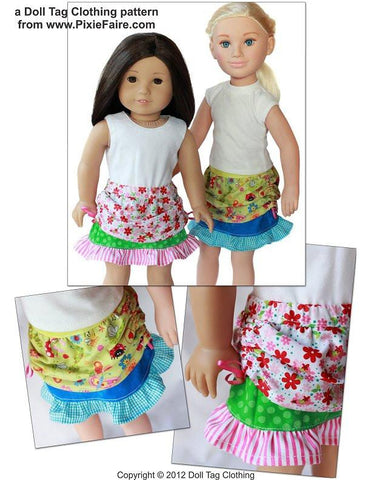 "Summer Skirt 18"" Doll Clothes"