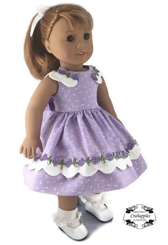 "Sunday Best 18"" Doll Clothes Pattern"