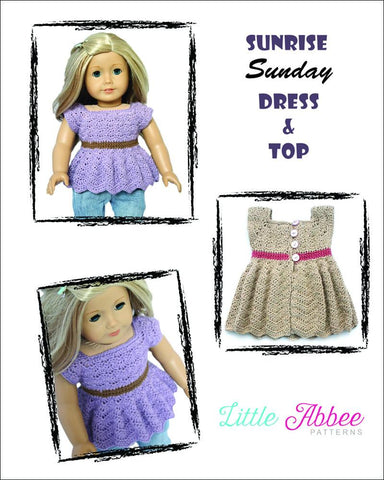 Sunrise Sunday Dress Crochet Pattern