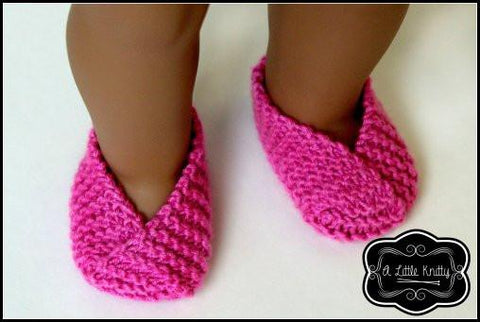FREE Susie Slippers Knitting Pattern
