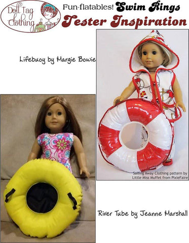 "Swim Rings 18"" Doll Accessories"