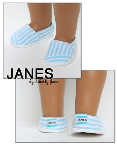 "JANES 18"" Doll Shoes"