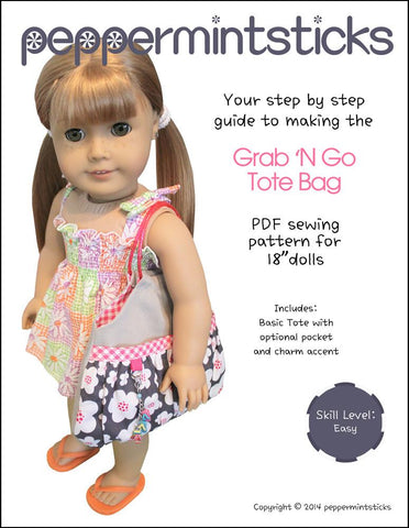 "Grab 'N Go Tote Bag 18"" Doll Accessories"