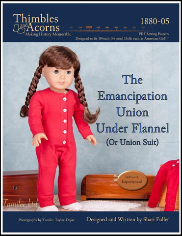 "Union Suit 18"" Doll Clothes Pattern"