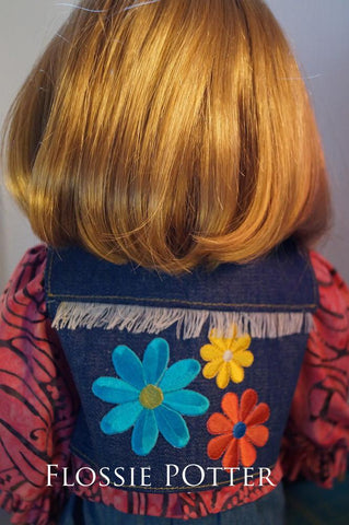 "Favorite Fringed Vest 18"" Doll Clothes"
